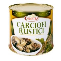 CARCIOFI RUSTICI o.girasole 3/1 (42/45 pz) kg.2