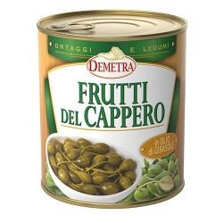 FRUTTI DEL CAPPERO olio girasole LATTA 4/4 GR 780 DEMETRA