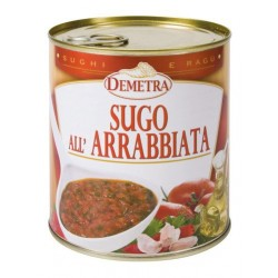 SUGO ALL'ARRABBIATA GR 830 4/4 DEMETRA