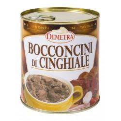 BOCCONCINI DI CINGHIALE 4/4 870g DEMETRA