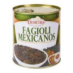 FAGIOLI MEXICANOS NERI 4/4 GR 900 DEMETRA