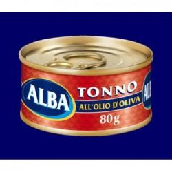 TONNO SKIPJACK olio oliva GR 80 ALBA/AMERIO