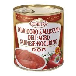 POMODORI PELATI S.MARZANO DOP 4/4 GR 800 DEMETRA