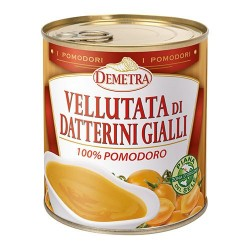VELLUTATA DI DATTERINI GIALLI latta 4/4 GR 800 DEMETRA