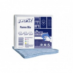 PANNO MULTIUSO 4c AZZURRO100%viscosa cm32x36 32 PZ CELTEX