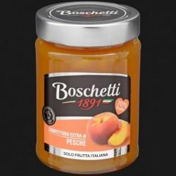 CONFETTURA EXTRA FRUTTA ITALIANA PESCA 70% 330 gr BOSCHETTI
