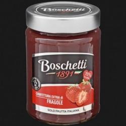 CONFETTURA EXTRA FRUTTA ITALIANA FRAGOLA 70% 330 gr BOSCHETTI