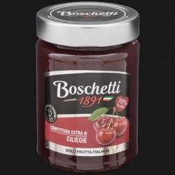 CONFETTURA EXTRA FRUTTA ITALIANA CILIEGIA 70% 330 gr BOSCHETTI