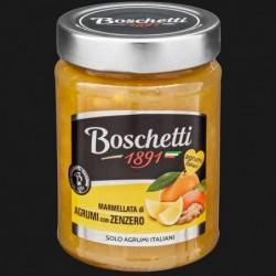 CONFETTURA EXTRA FRUTTA ITALIANA AGRUMI/ZENZERO 70% 330 gr BOSCHETTI