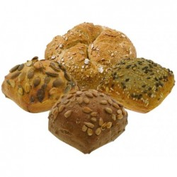 MINI PANINI ASSORT cereali KORNER GELO (20 panini da 35 gr) x 6cf
