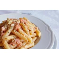 PENNETTE AL SALMONE GR 350 piatto pronto GELO EATWELL