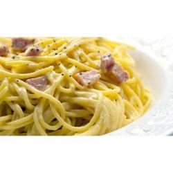 SPAGHETTI ALLA CARBONARA GR 350 piatto pronto GELO EATWELL