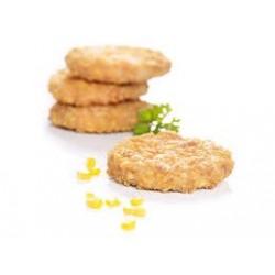 HAMBURGER POLLO (6 pz da 195 gr) panato cornflakes royal GELO OSI KG 1 c.a.